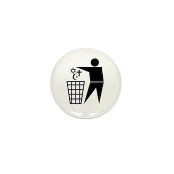 Trash Religion Mini Button