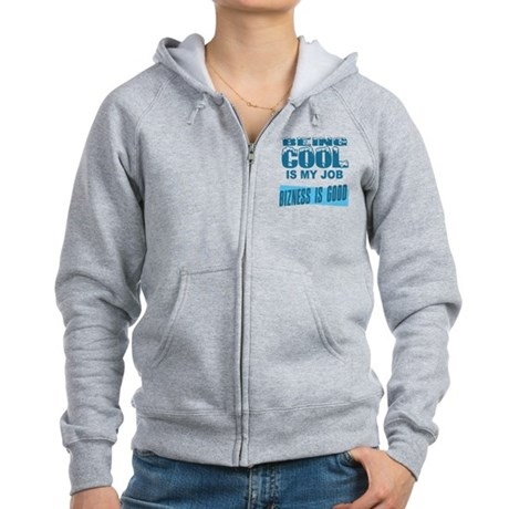 Being Cool Womens Zip Hoodie