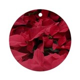 Poinsettia Ornament (Round)