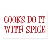 Cooks do it with spice Decal