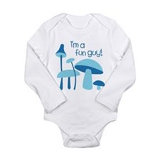 I'm A Fun Guy! Long Sleeve Infant Bodysuit