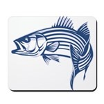 Graphic Striped Bass Mousepad