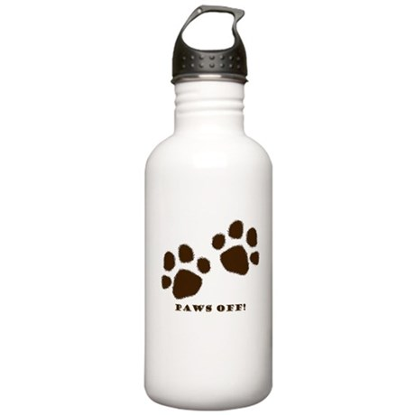 Paws Off! Stainless Water Bottle 1.0L
