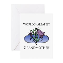 World's Greatest Grandmother (Floral) Greeting Car