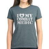 I Love My Combat Medic Tee