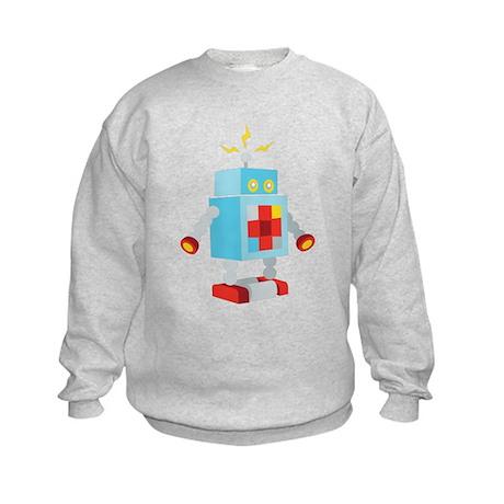 Robot Power Kids Sweatshirt