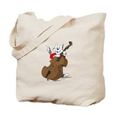 String Bass Cat III Tote Bag
