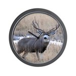 Muley Buck Wall Clock