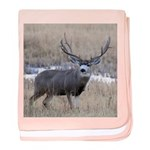 Muley Buck baby blanket