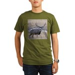 Muley Buck Organic Men's T-Shirt (dark)