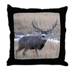 Muley Buck Throw Pillow