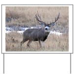Muley Buck Yard Sign