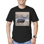 Muley Buck Men's Fitted T-Shirt (dark)