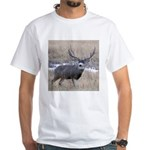 Muley Buck White T-Shirt