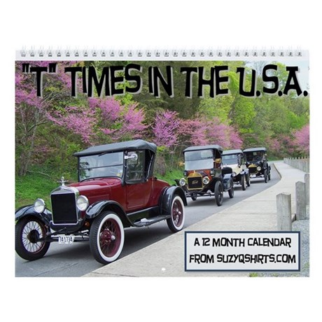 Antique Car Wall Calendar