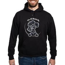 Black Poodle Lover Hoodie