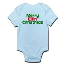 Merry Elfin' Christmas Onesie