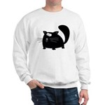 Cute Black Cat Sweatshirt
