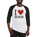 I Love Soda Baseball Jersey