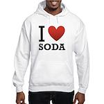 I Love Soda Hooded Sweatshirt