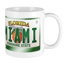 """MIAMI"" Florida License Plate Mug"