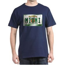 """MIAMI"" Florida License Plate T-Shirt"