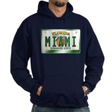 """MIAMI"" Florida License Plate Hoodie"