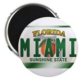 """MIAMI"" Florida License Plate Magnet"