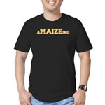 aMAIZEing Men's Fitted T-Shirt (dark)