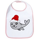 Christmas Seal Bib