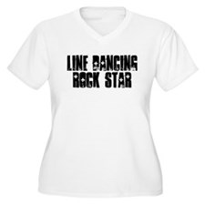 Line Dancing Rock Star T-Shirt