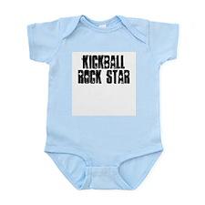 Kickball Rock Star Infant Bodysuit