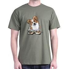 Curious Border Collie T-Shirt