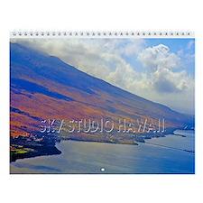 Molokai Aerial Panoramas Wall Calendar