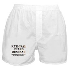 NG Husband Answering the Call Boxer Shorts
