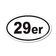 29er Euro 35x21 Oval Wall Peel