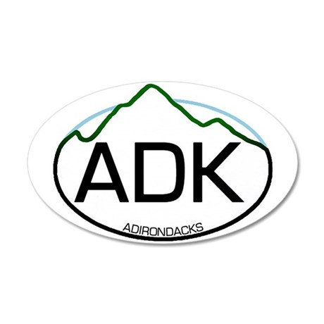 ADK Oval 20x12 Oval Wall Peel