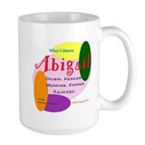 ABIGAIL Name Mug (15 oz)
