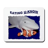 Eating U-Know Mousepad