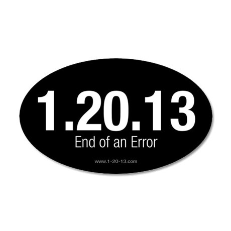 End of an Error Reversed Sticker