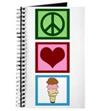 Peace Love Ice Cream Journal