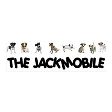 THE JACKMOBILE (Bumper) STICKER