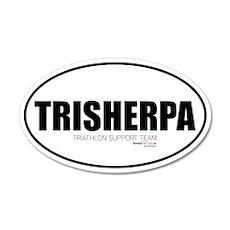 TriSherpa 35x21 Oval Wall Peel