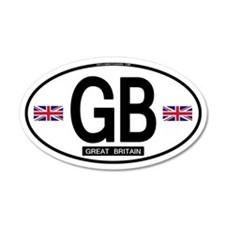GB 20x12 Oval Wall Peel (Proper)