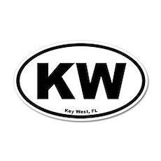 Key West 35x21 Oval Wall Peel