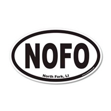 North Fork Long Island NOFO Euro 35x21 Oval Wall P