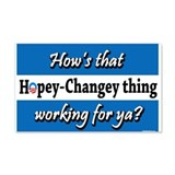 Hopey Changey 20x12 Wall Peel