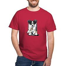 Tri-Color Border Collie T-Shirt