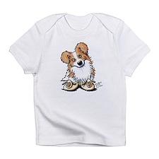 Curious Border Collie Infant T-Shirt