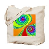 Hook and Spiral Tote Bag